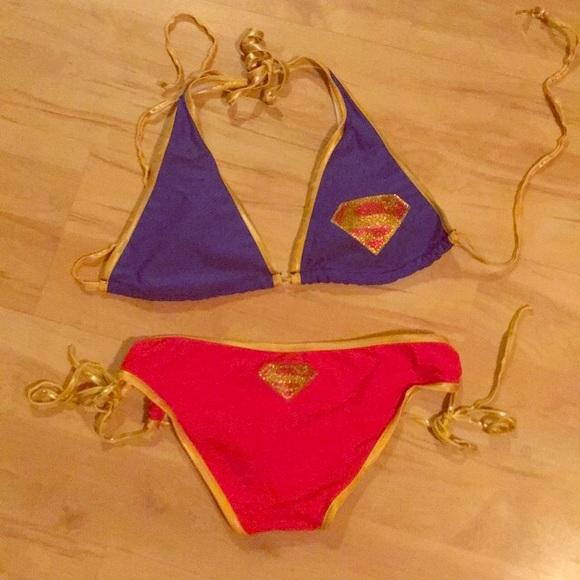 a3fe5a83 Spencer's Swim | Superman Bikini Suit | Poshmark